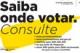 Linha de informação eleitoral